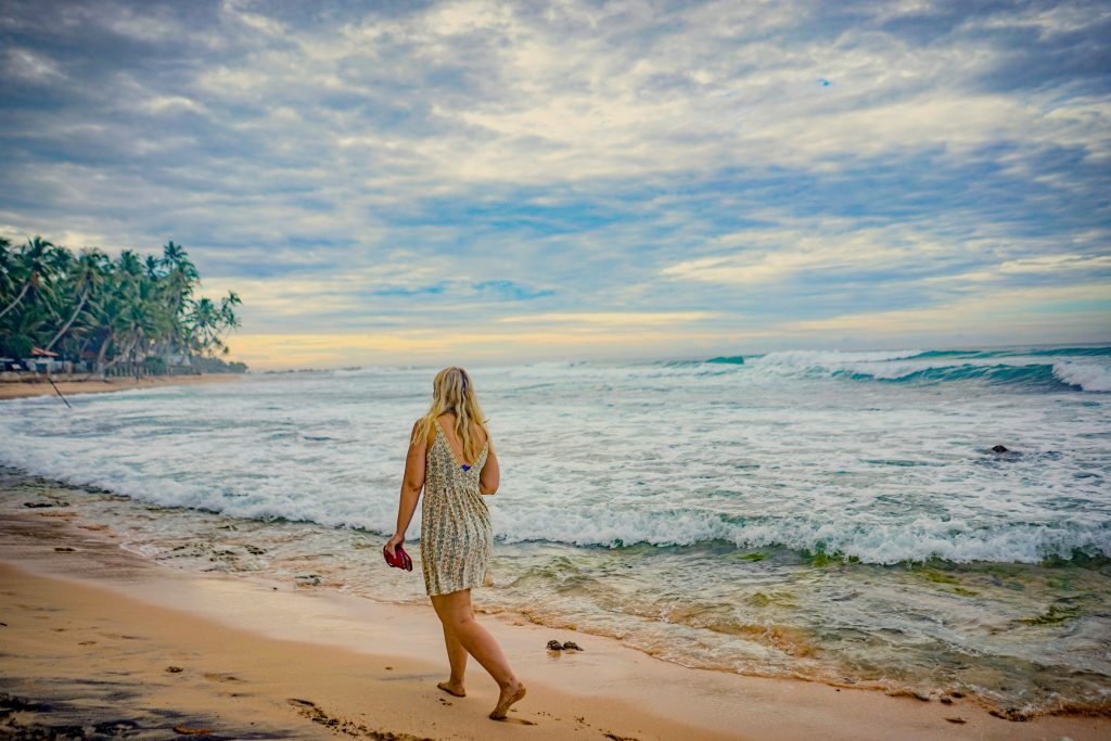 Sri Lanka two week itinerary-empty beaches