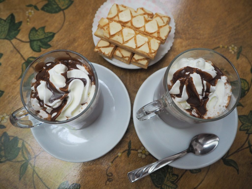 Hot chocolate recipe for sailing