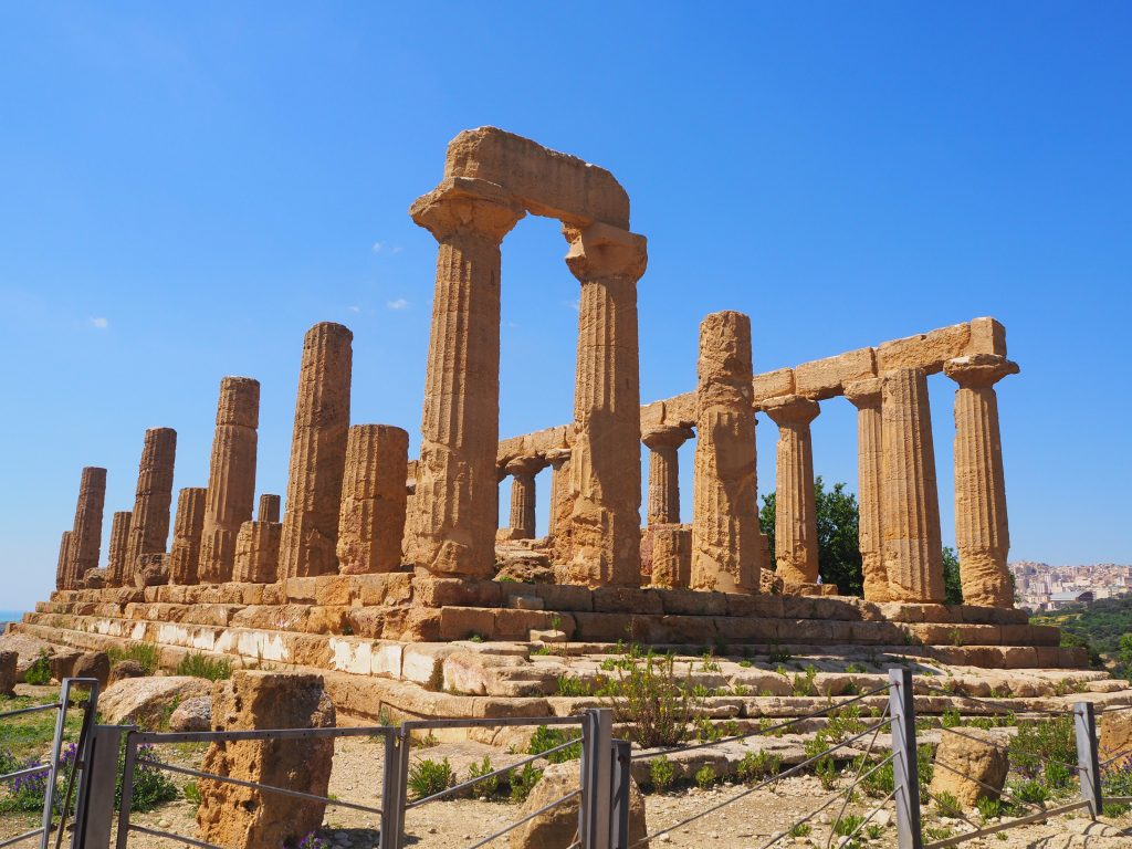 The Valley of the Temples, Sicily-Temple of Hera
