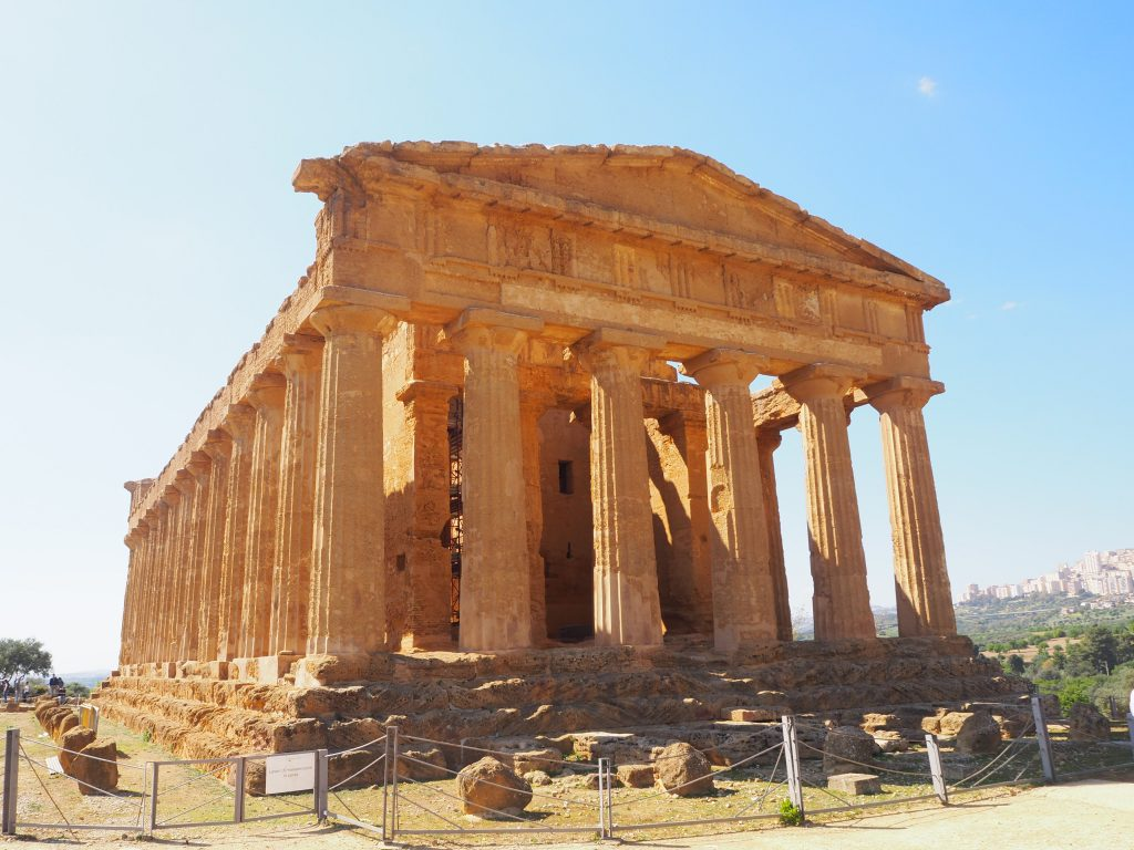 The Valley of the Temples, Sicily-Temple of Concordia