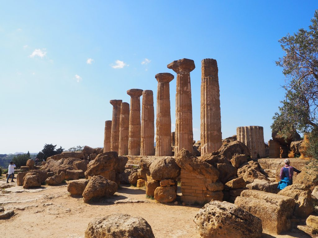 The Valley of the Temples, Sicily-Temple of Heracles