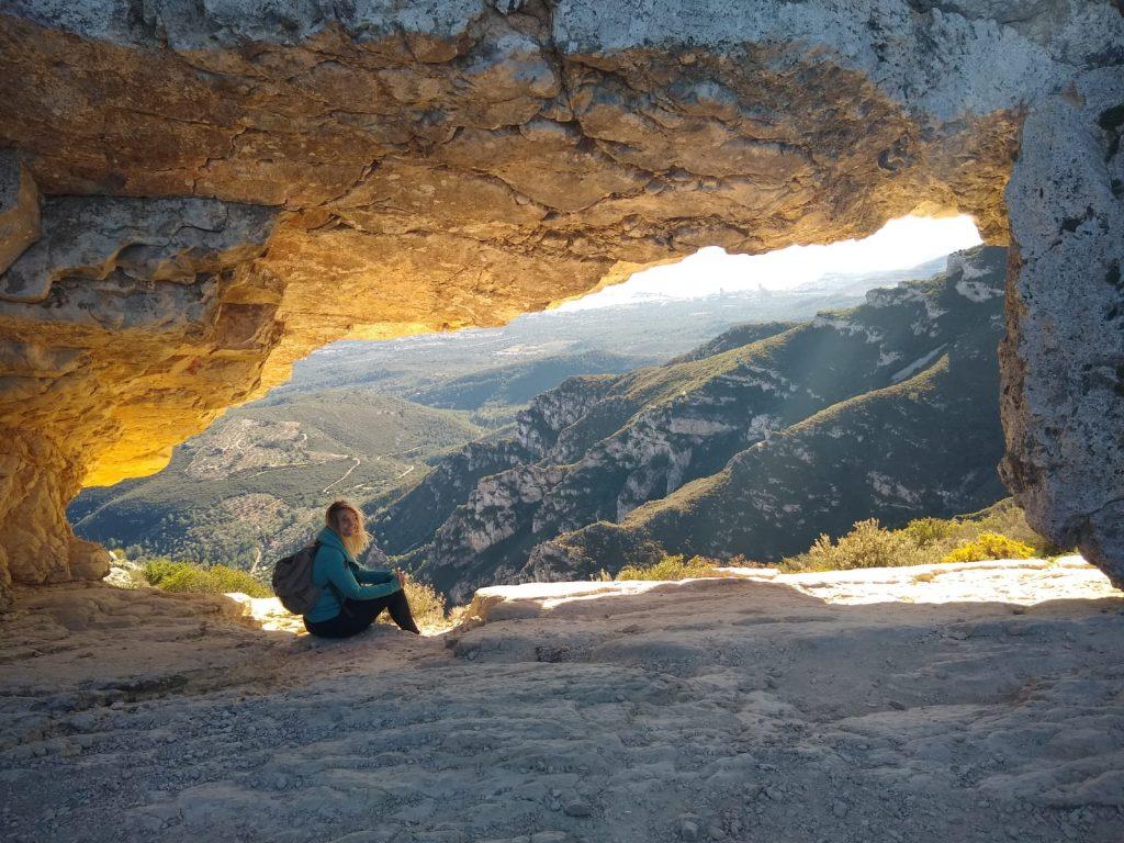 Sant Carles de la Rapita mountain view