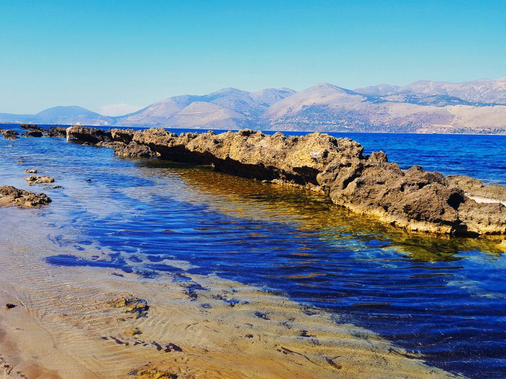 A beach in Lixouri, Kephalonia