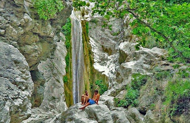 Waterfalls in Nidri