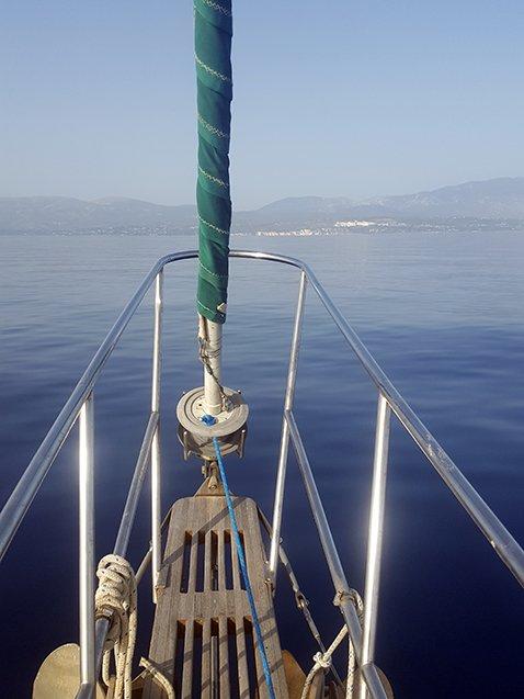 saving water on a sailboat