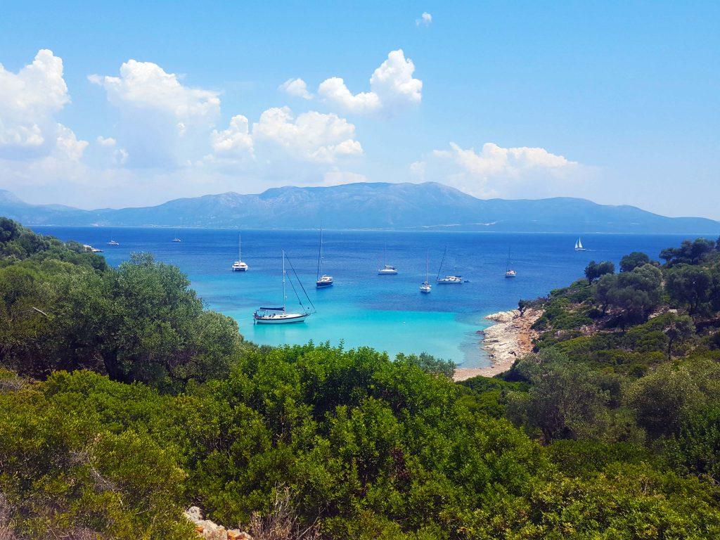 kastos island in Greece