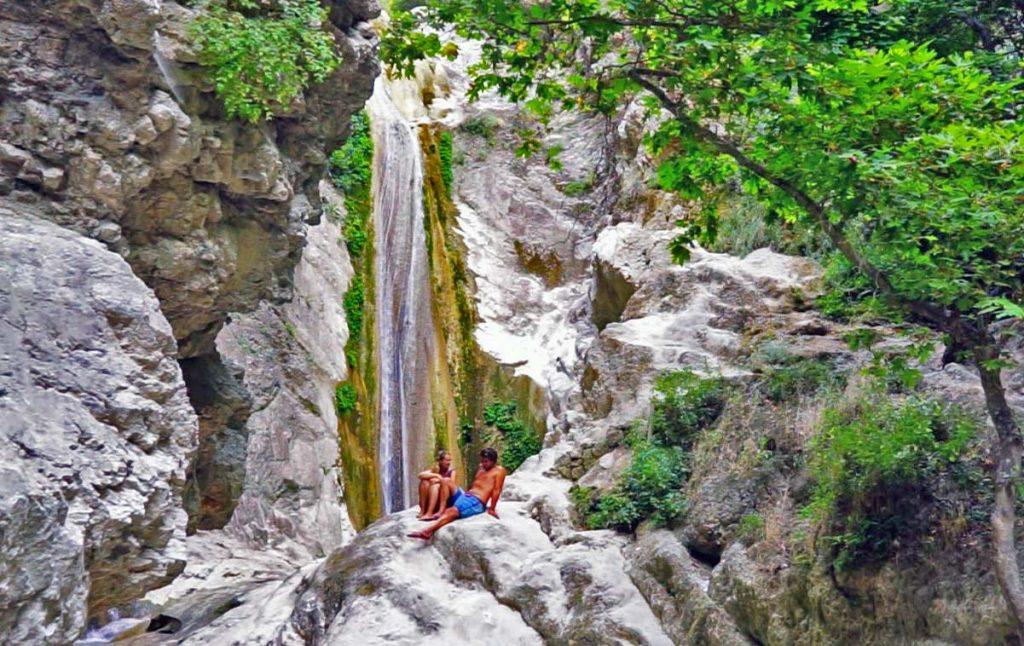A waterfall in nidri