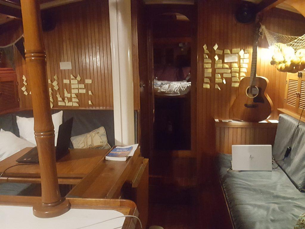 Sailboat storage ideas