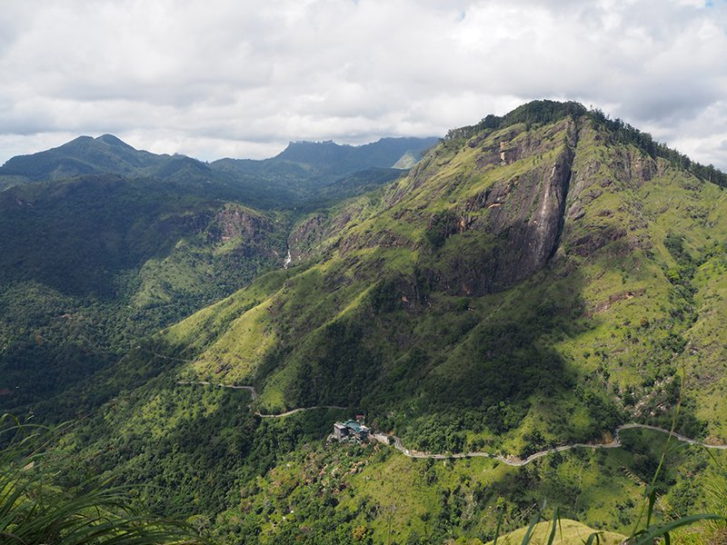 Little adam's peak in sri lanka