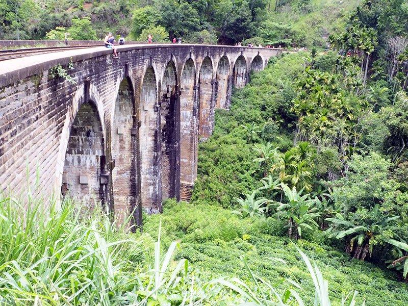 ALL NINE OF THE ARCHES ON NINE ARCH BRIDGE, ELLA