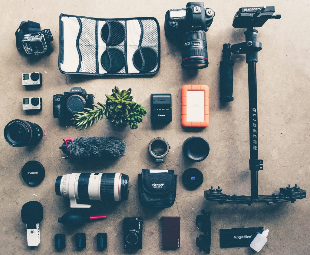 photography gear to show children how to take a great photo