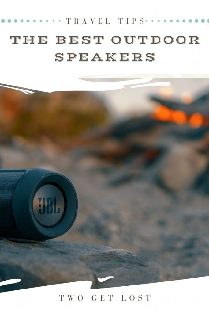 the best outdoor speakers for travel