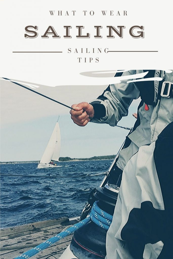 what to wear sailing