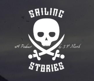 a sailing story podcast logo