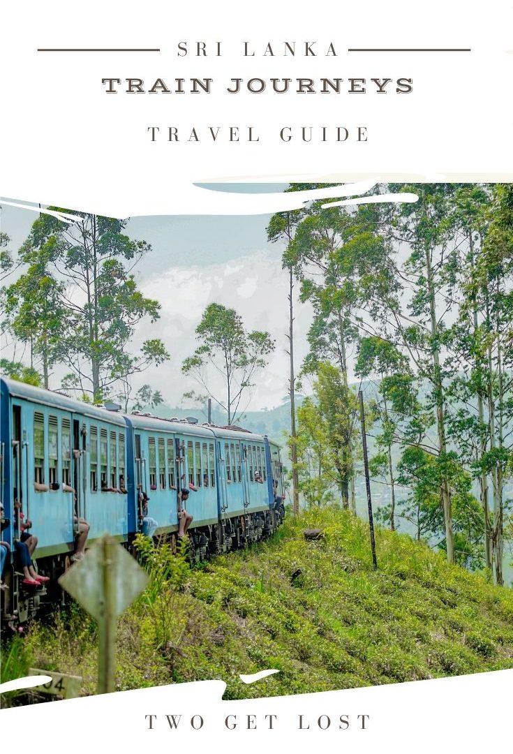 SRI LANKA train journeys