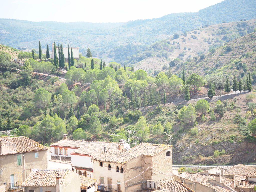 Views from Miravet in Spain