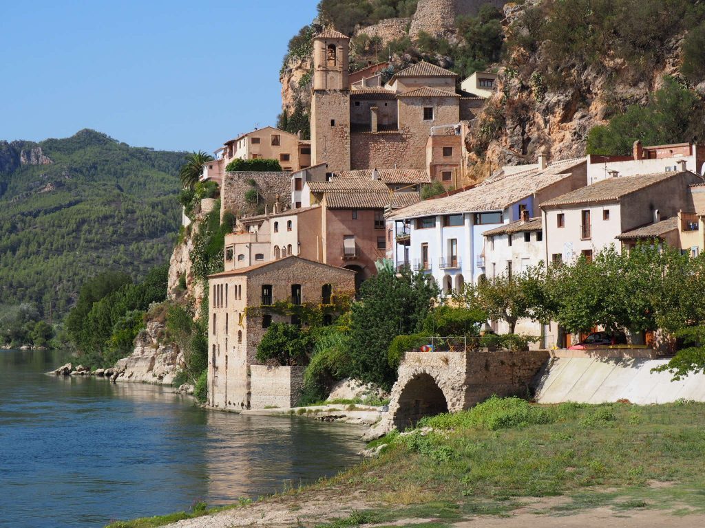 Miravet village in Spain