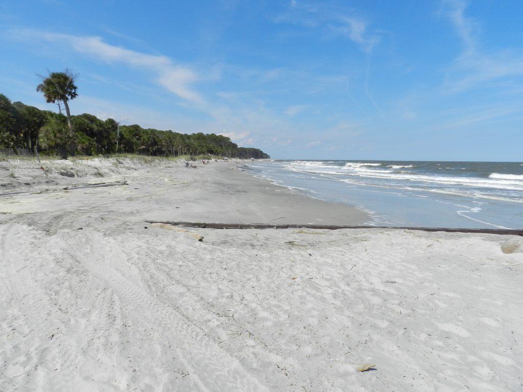 a beautiful stretch of beach