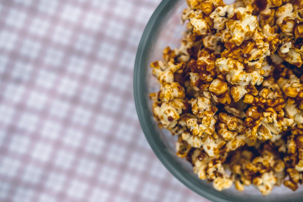popping corn in a science experiment for kids