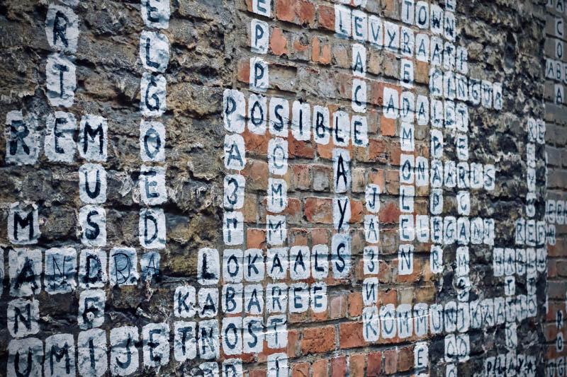 a crossword of spellings for kids