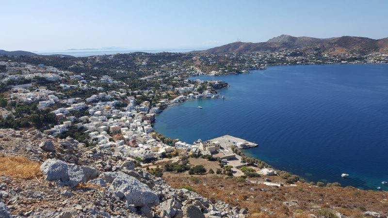 the quiet greek island of leros