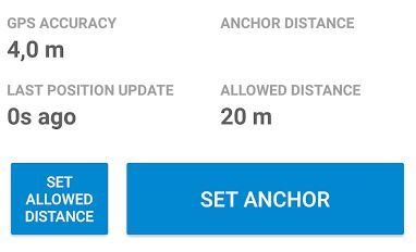 anchor watch sailing app for setting your anchor
