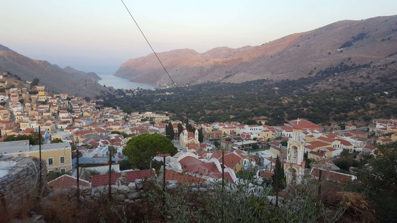 views across symi island