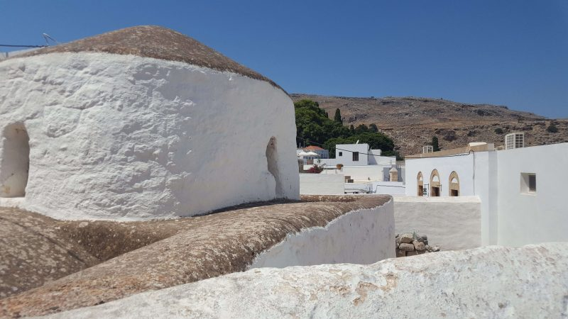 one of the top things to do in lindos-exploring whitewashed streets