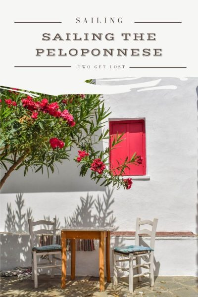 sailing peloponnese