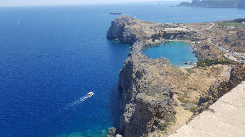 St Pauls bay - one of the best places to visit in Lindos