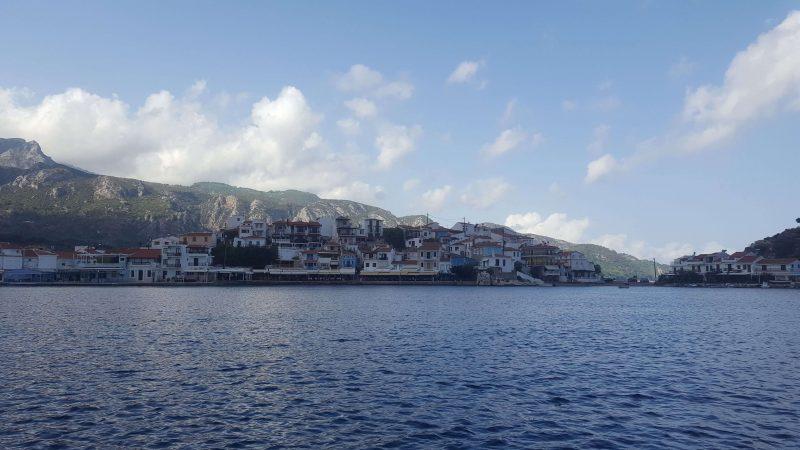 kokkari town in greece