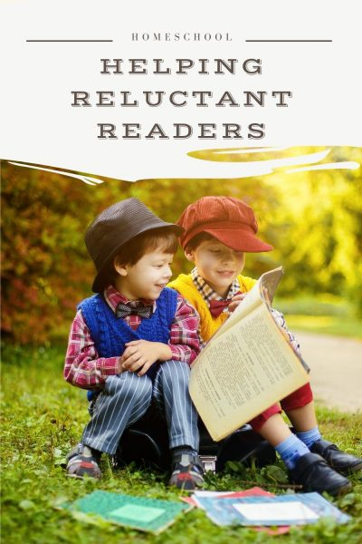 helping a reluctant reader
