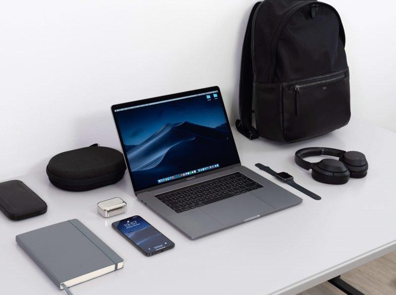 the best backpack for digital nomads on a desk