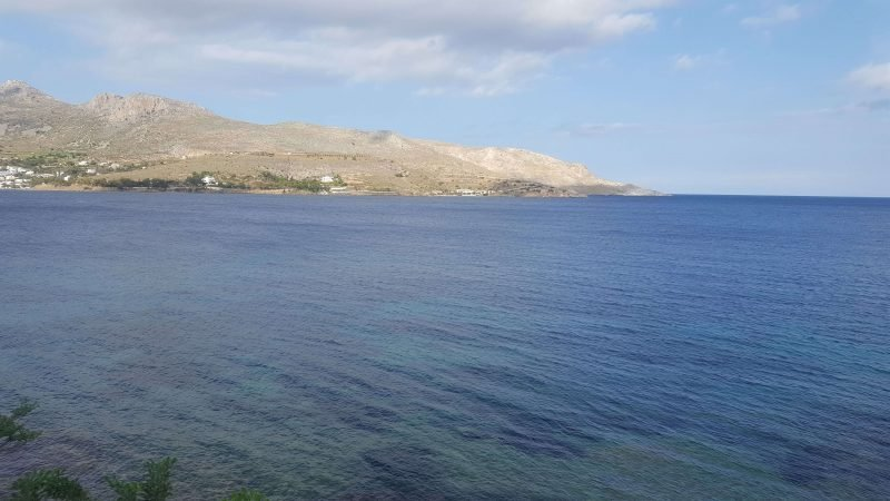 alinda bay on leros island