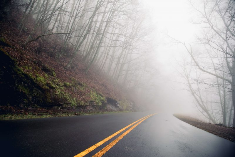 driving the blueridge parkway - one of the best free things to do in asheville