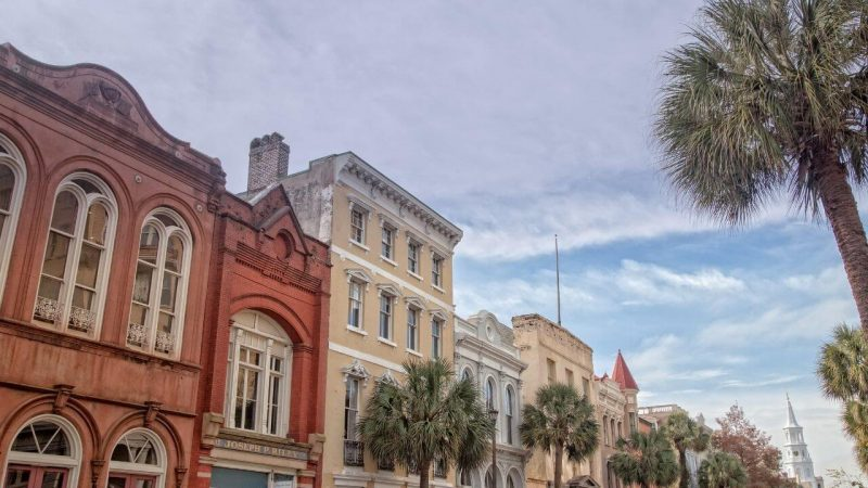 houses in historic chaRLESTON