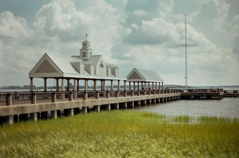 Charleston's waterfront harbourside