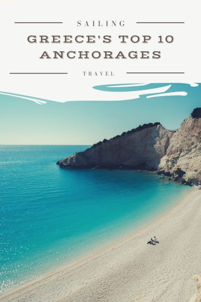greece's top 10 anchorages