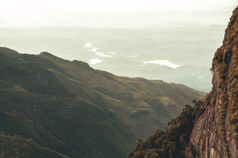horton plains national park in sri lanka