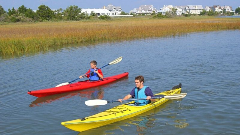 one of the best things to do in charleston is to see it by kayak