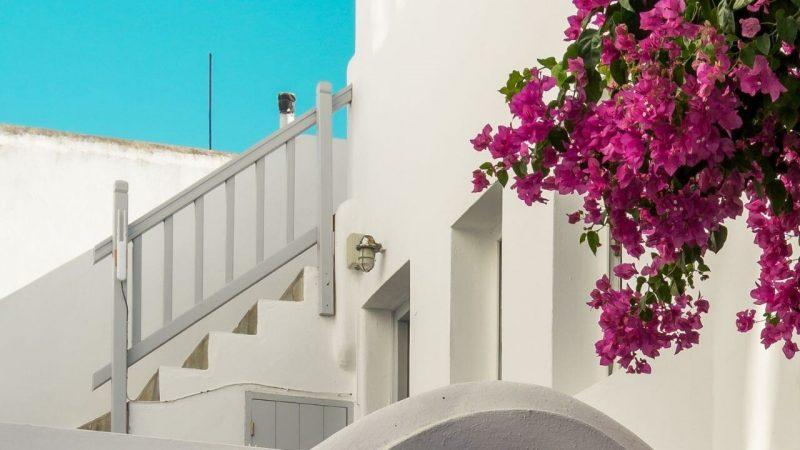 a hotel on the greek island of amorgos